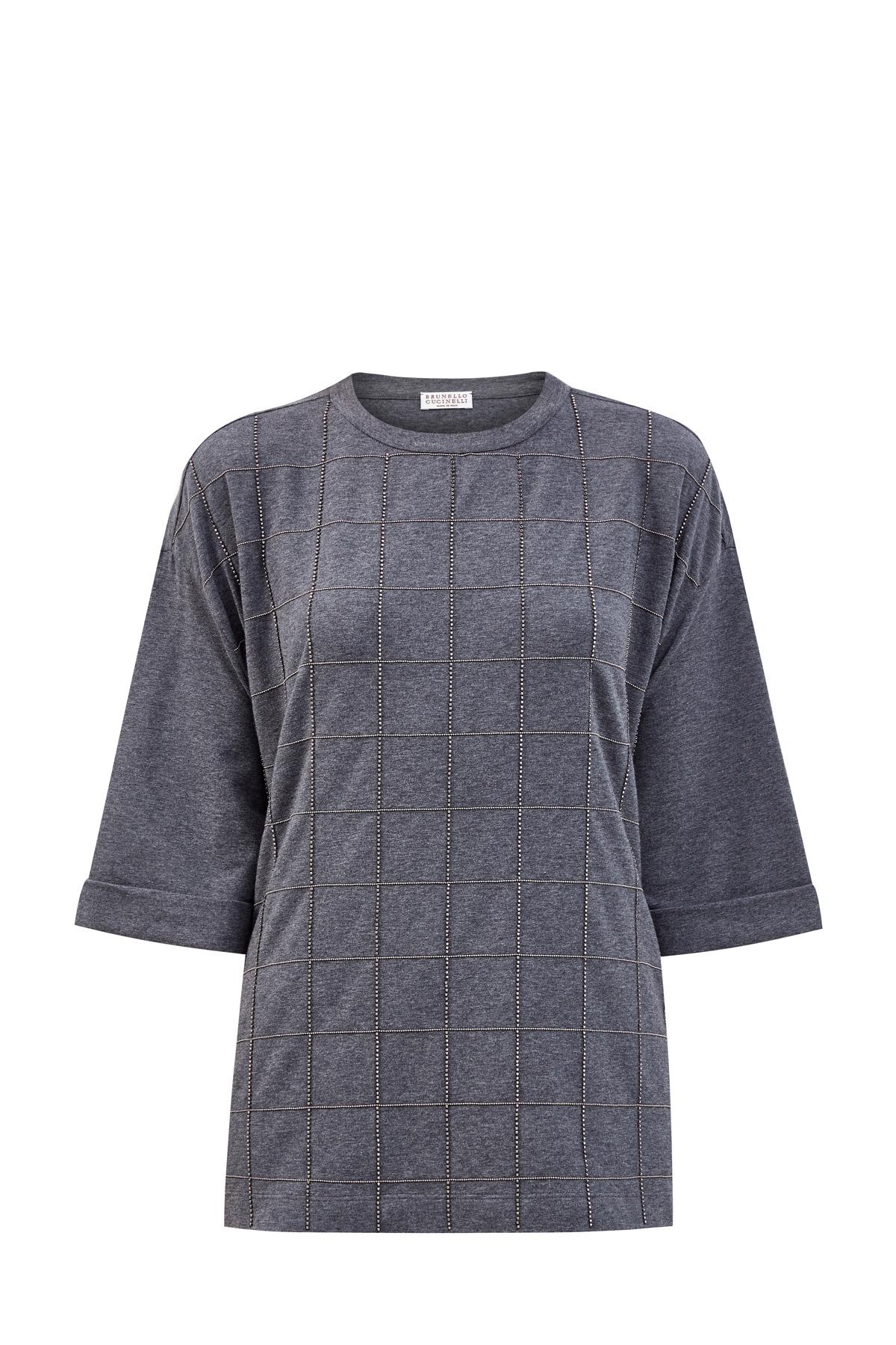 женская футболка brunello cucinelli