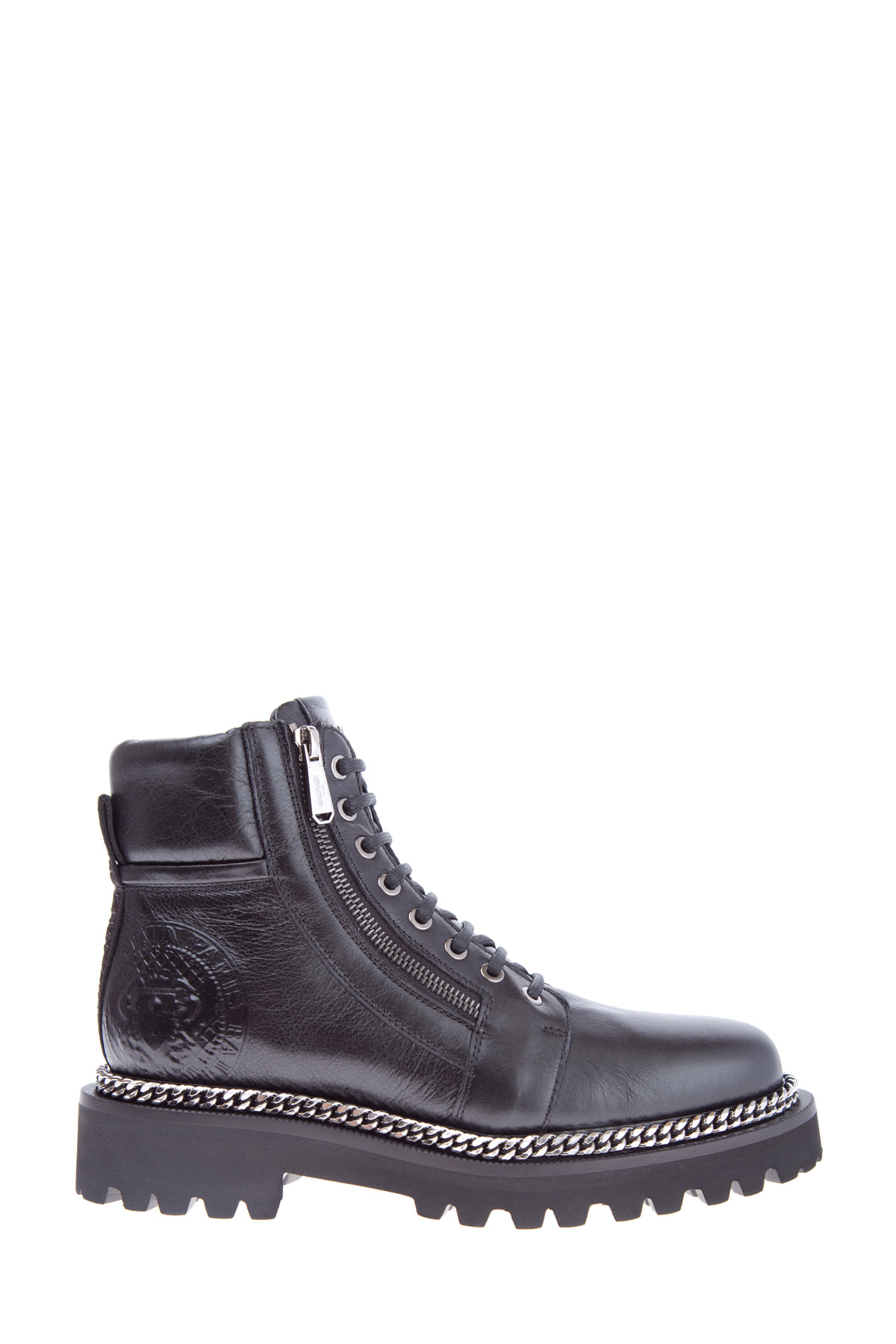 женские ботинки на каблуке balmain