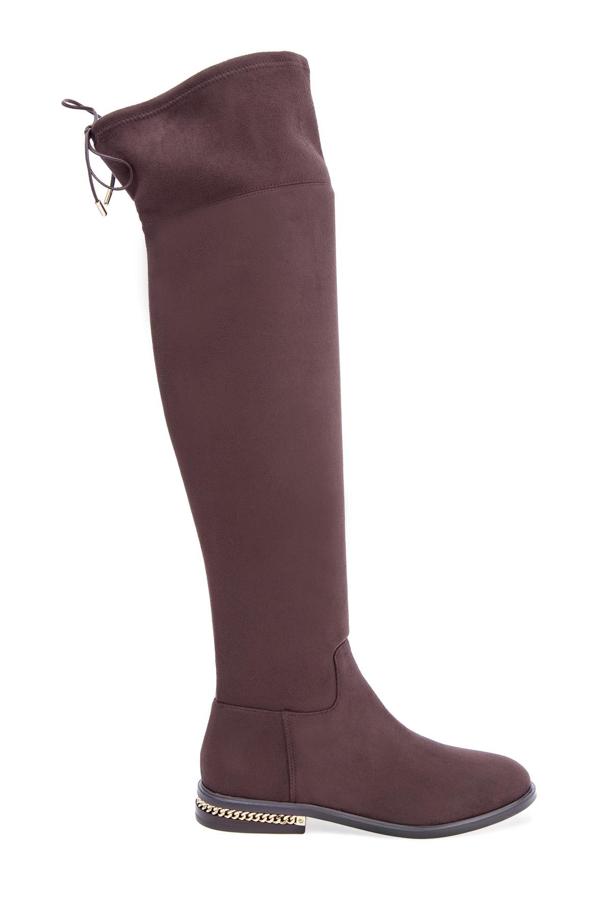 женские ботфорты на каблуке michael kors