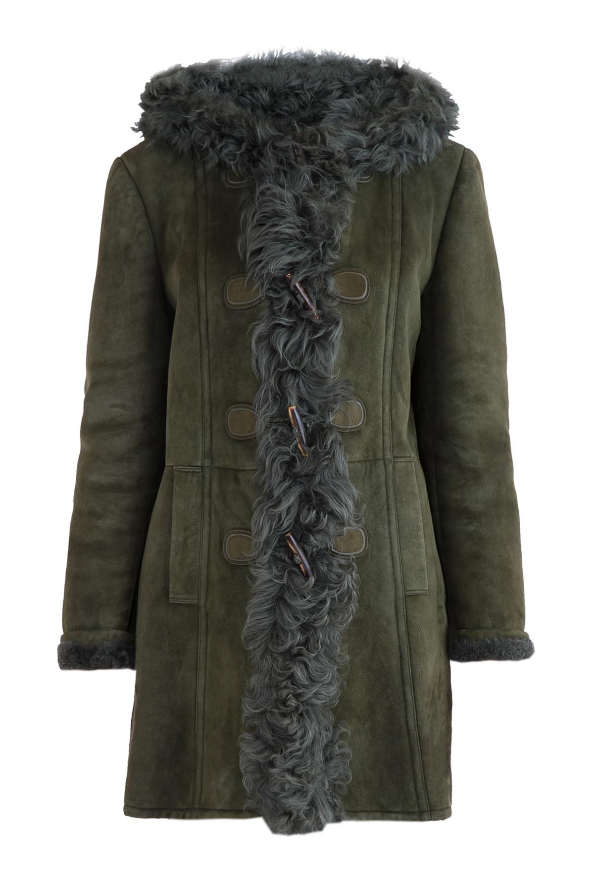 Купить Дубленка, GUCCI, Италия, овчина 100%, мех ягненка 100%