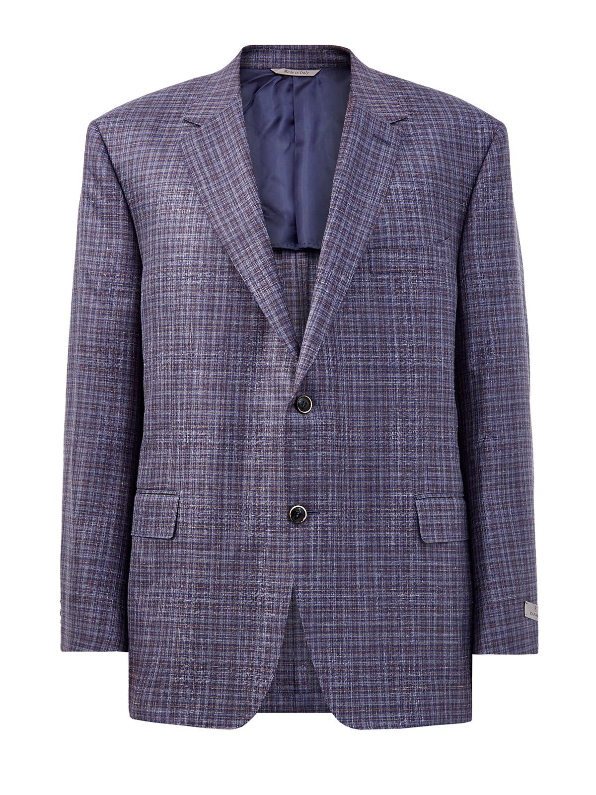 Пиджак в неаполитанском стиле с мелованным принтом