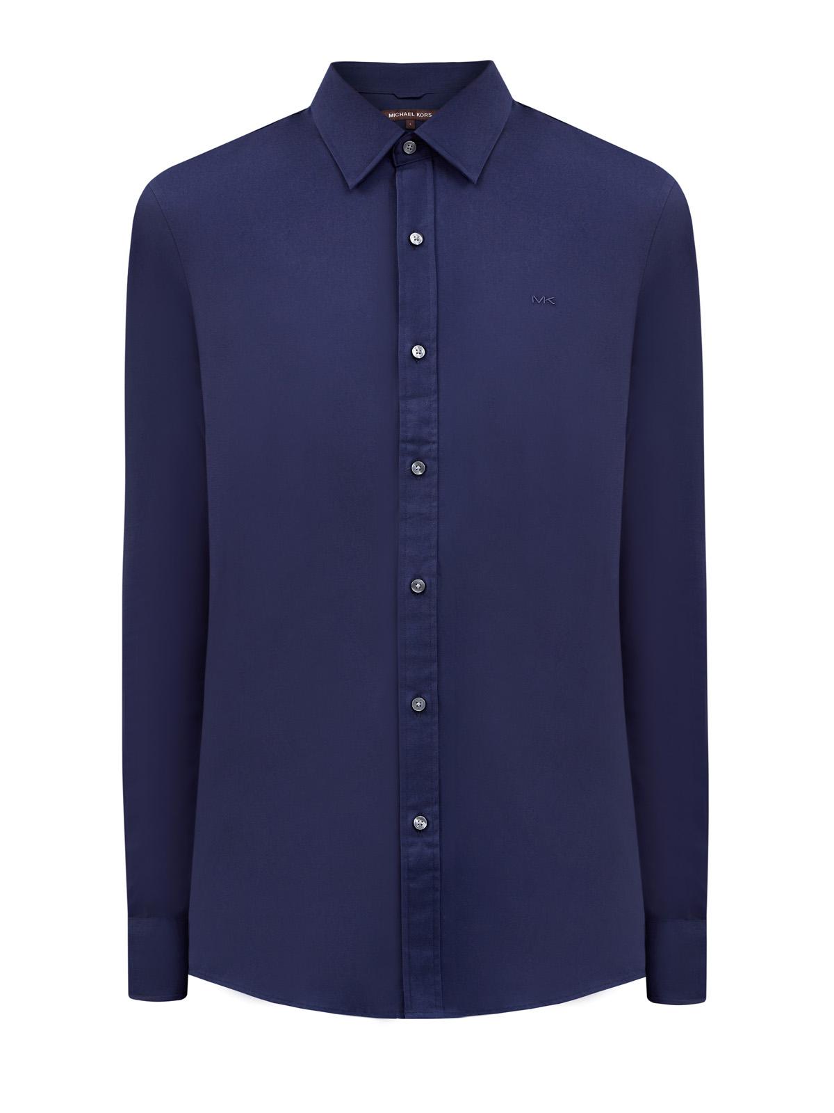 Рубашка вклассическом стиле изгладкого хлопка