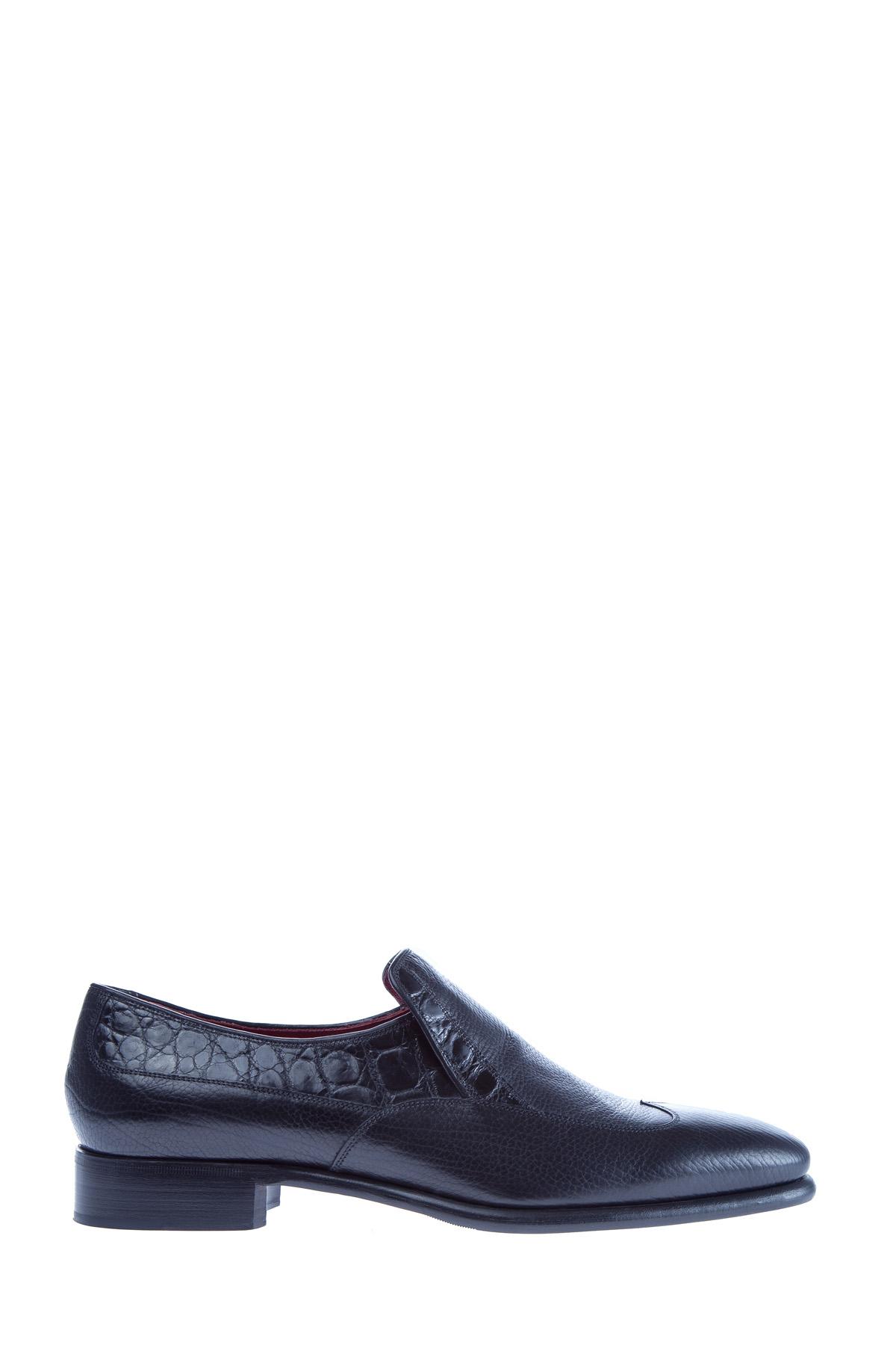 Купить Лоферы, STEFANO RICCI, Италия, кожа 100%, кожа крокодила 100%