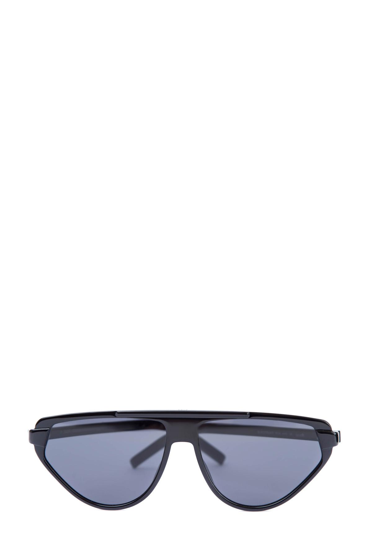 Купить Очки BlackTie247 с интерпретированной оправой авиатор в черном цвете, DIOR (sunglasses) men, Италия, пластик 100%, стекло 100%