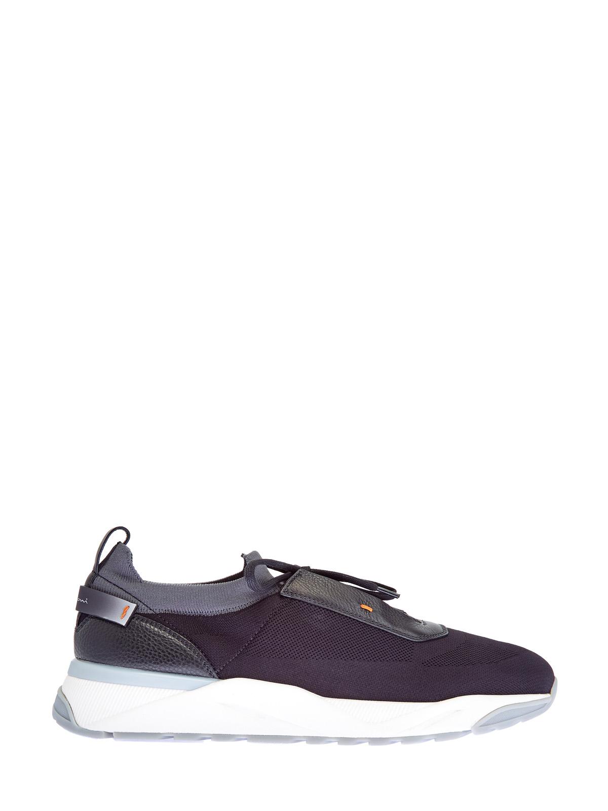 мужские кроссовки santoni