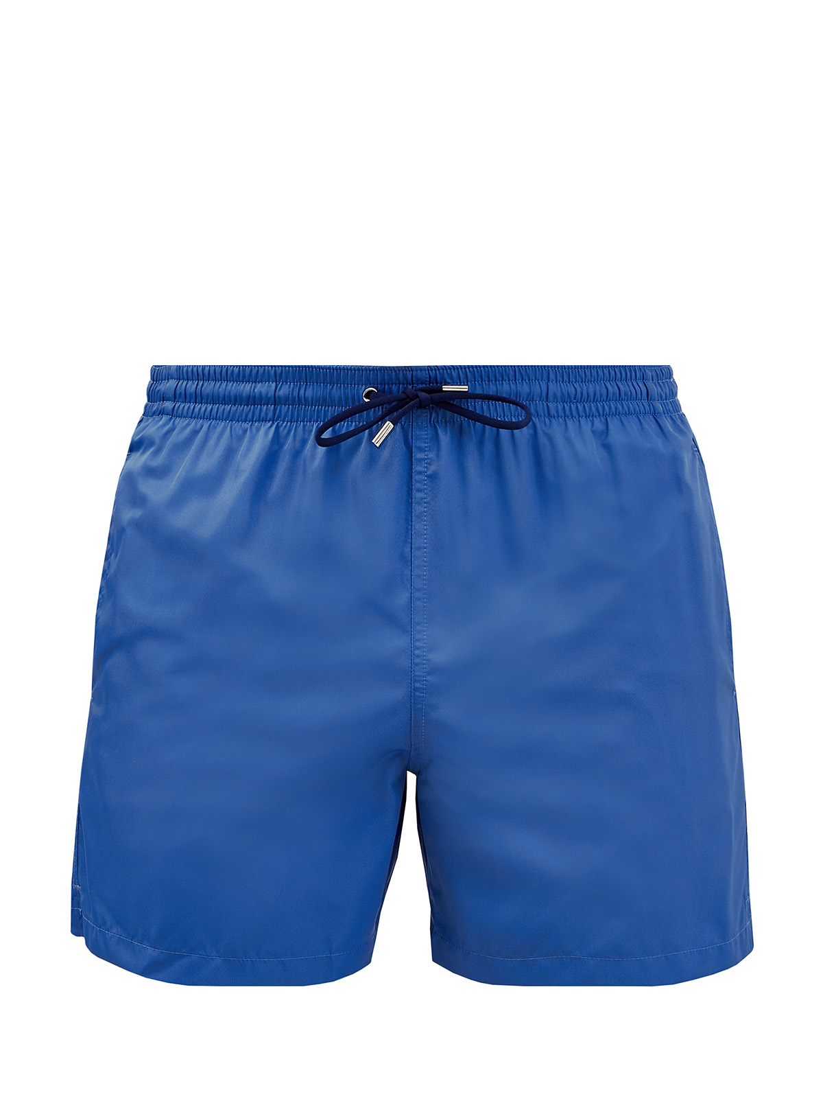 Однотонные плавательные шорты из гладкой ткани