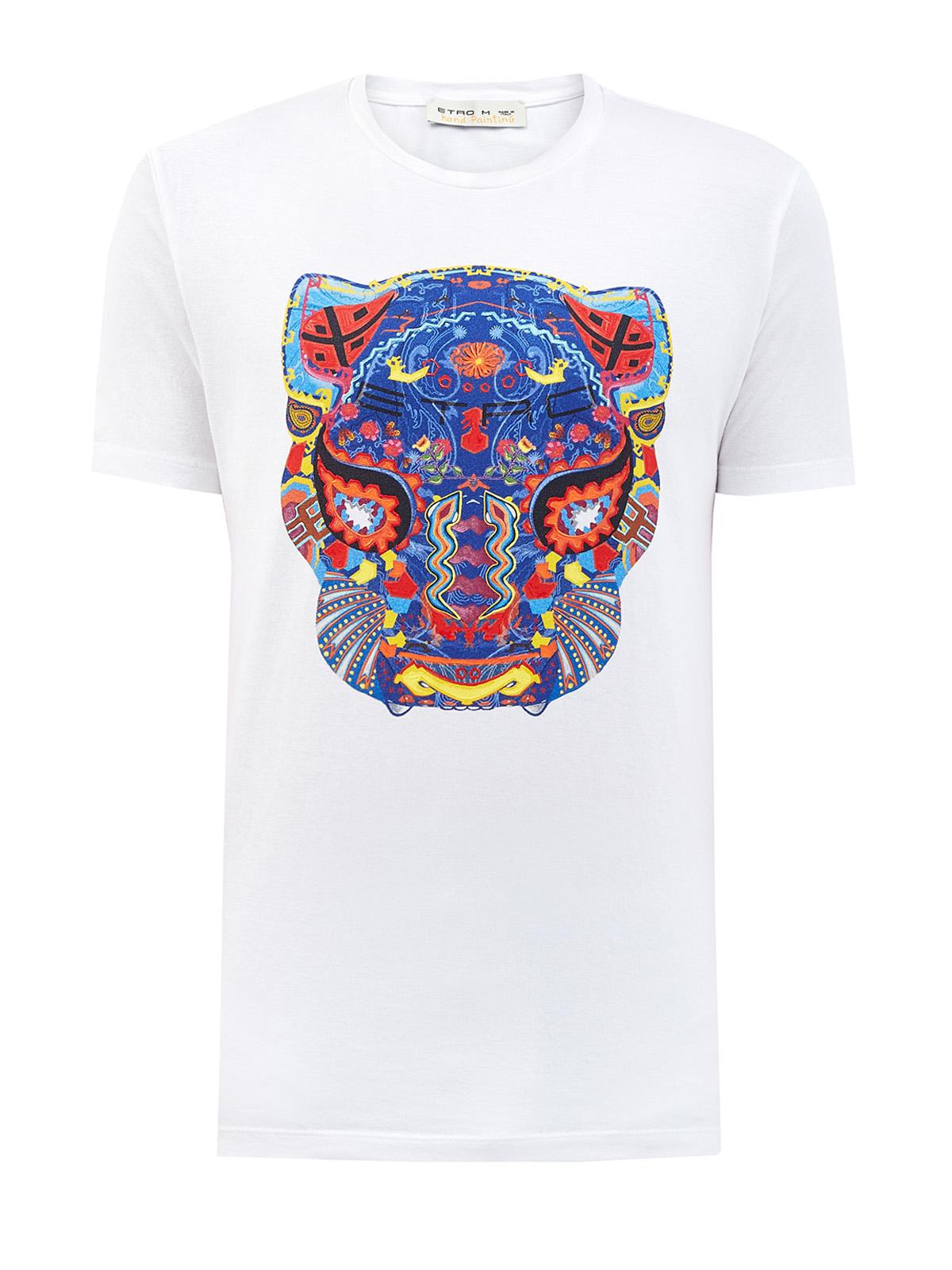 мужская футболка с коротким рукавом etro