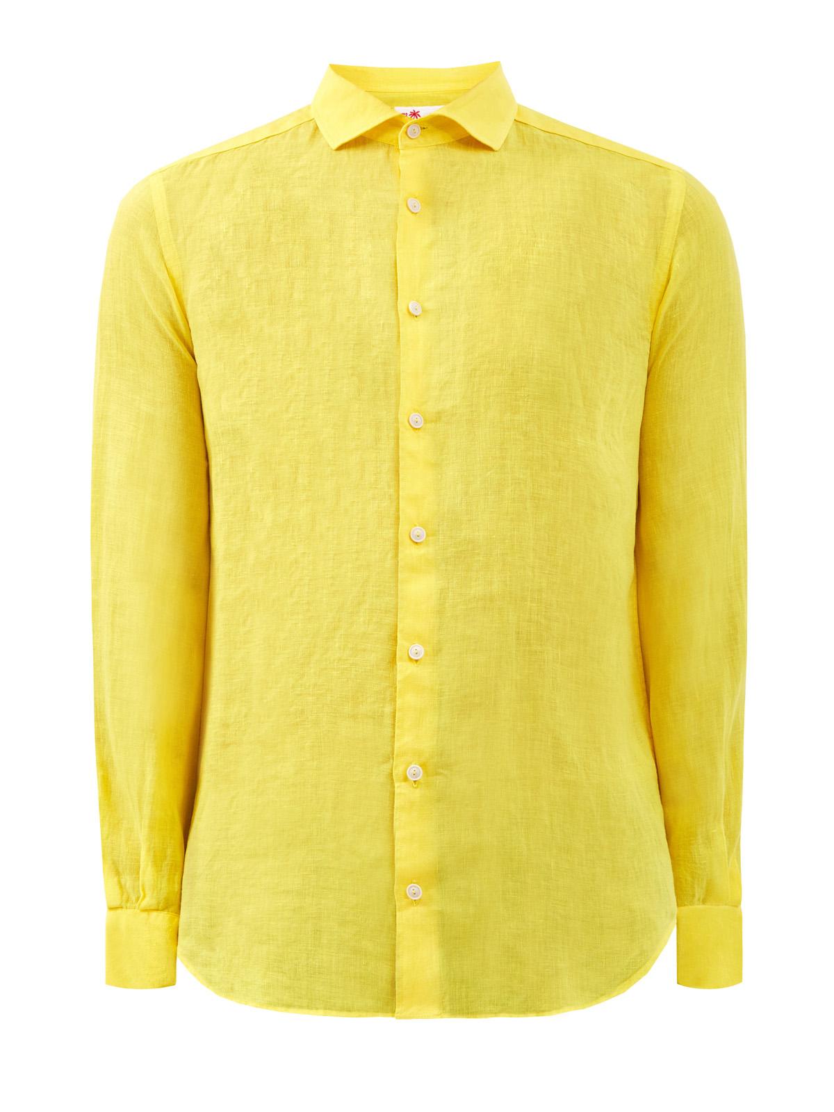 Рубашка в стиле leisure из дышащего льна