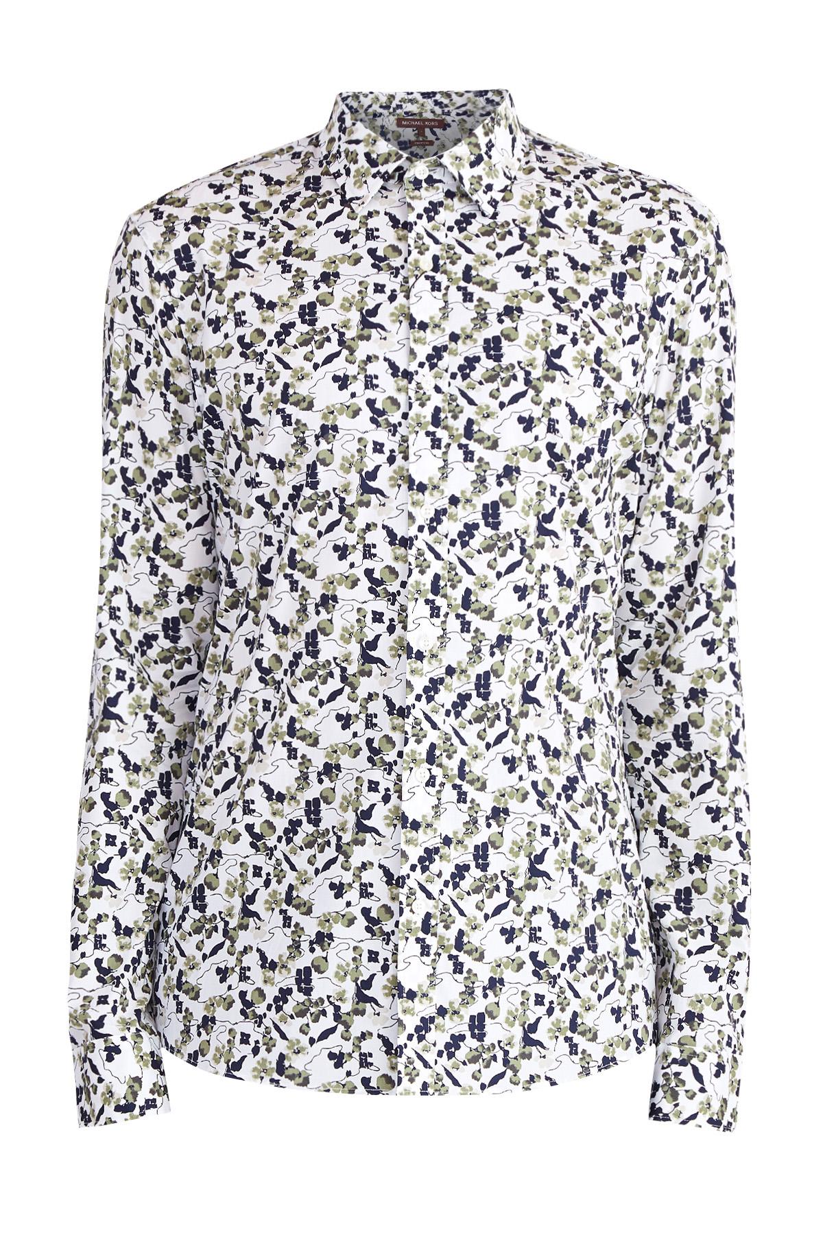 Купить Рубашка, MICHAEL KORS, США, хлопок 97%, спандекс 3%