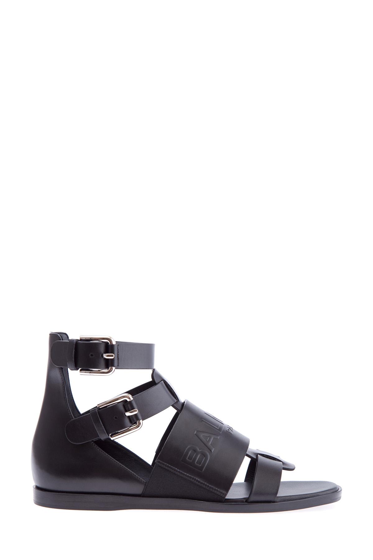 женские сандалии balmain