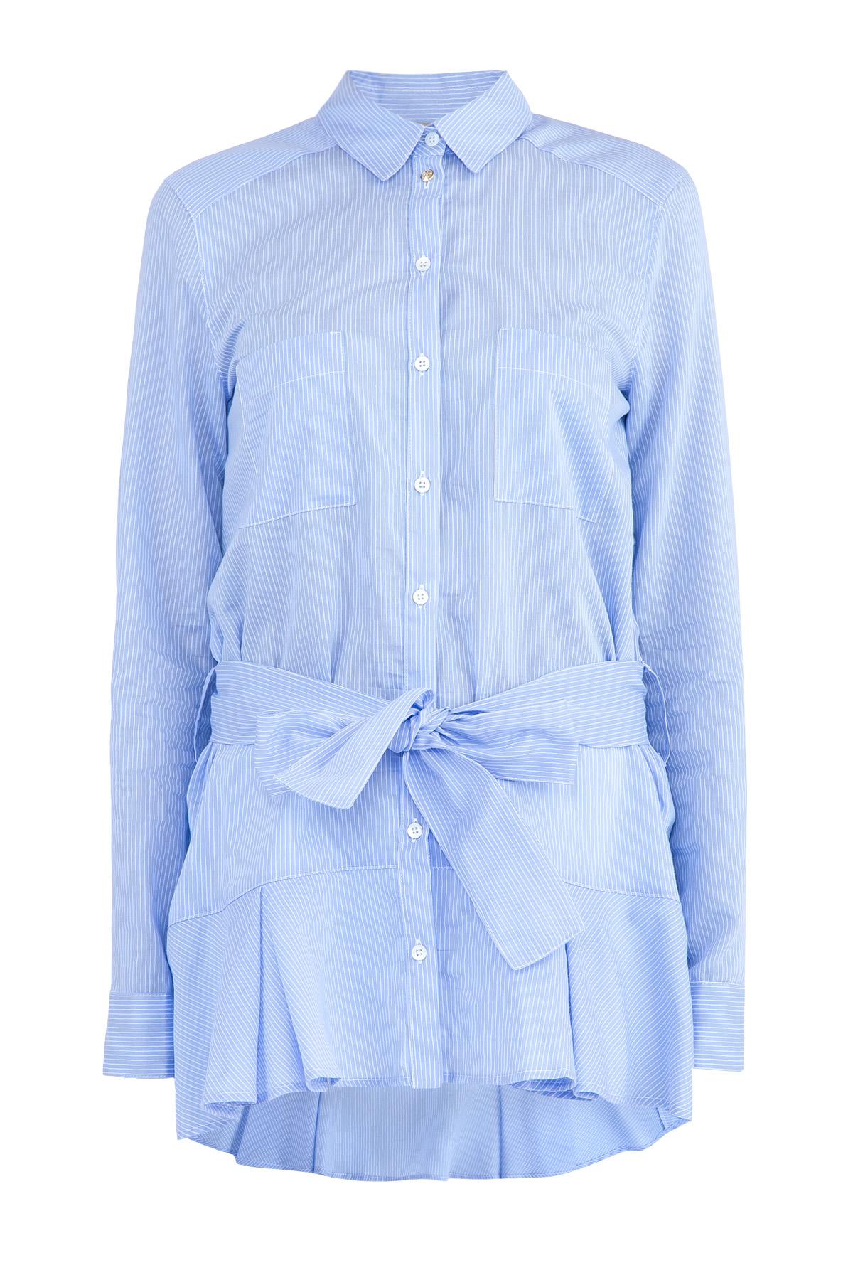 рубашкаБлузки, рубашки<br><br>Материал: хлопок 82% ,  полиамид 18%;