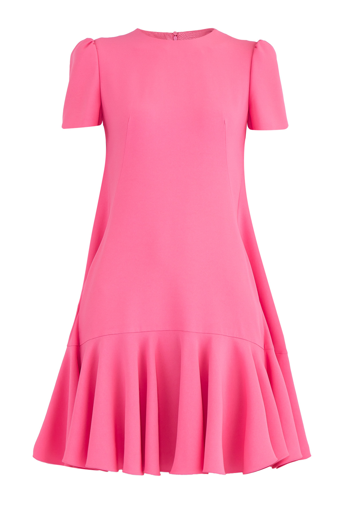 женское платье с коротким рукавом alexander mcqueen