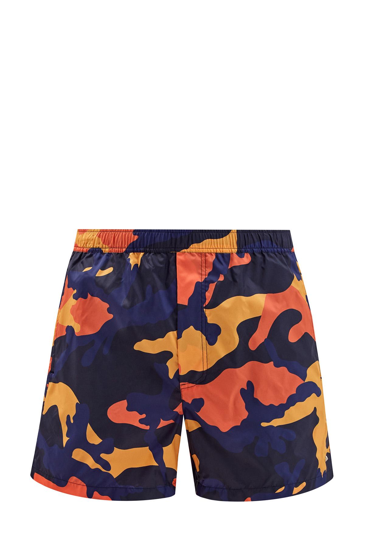Плавательные шорты с принтом ID Camouflage