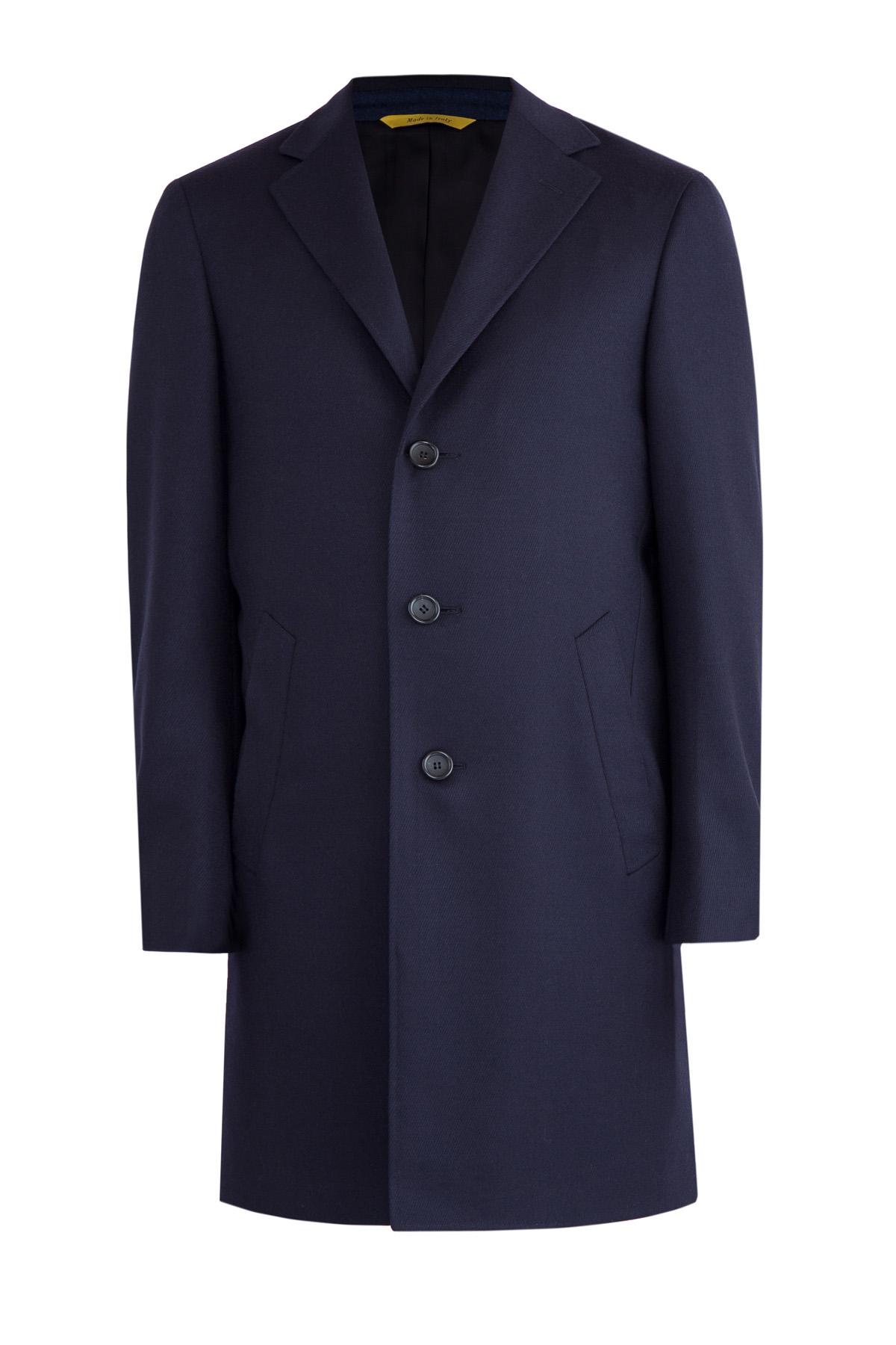 Пальто Kei ручной работы из шерстяной ткани