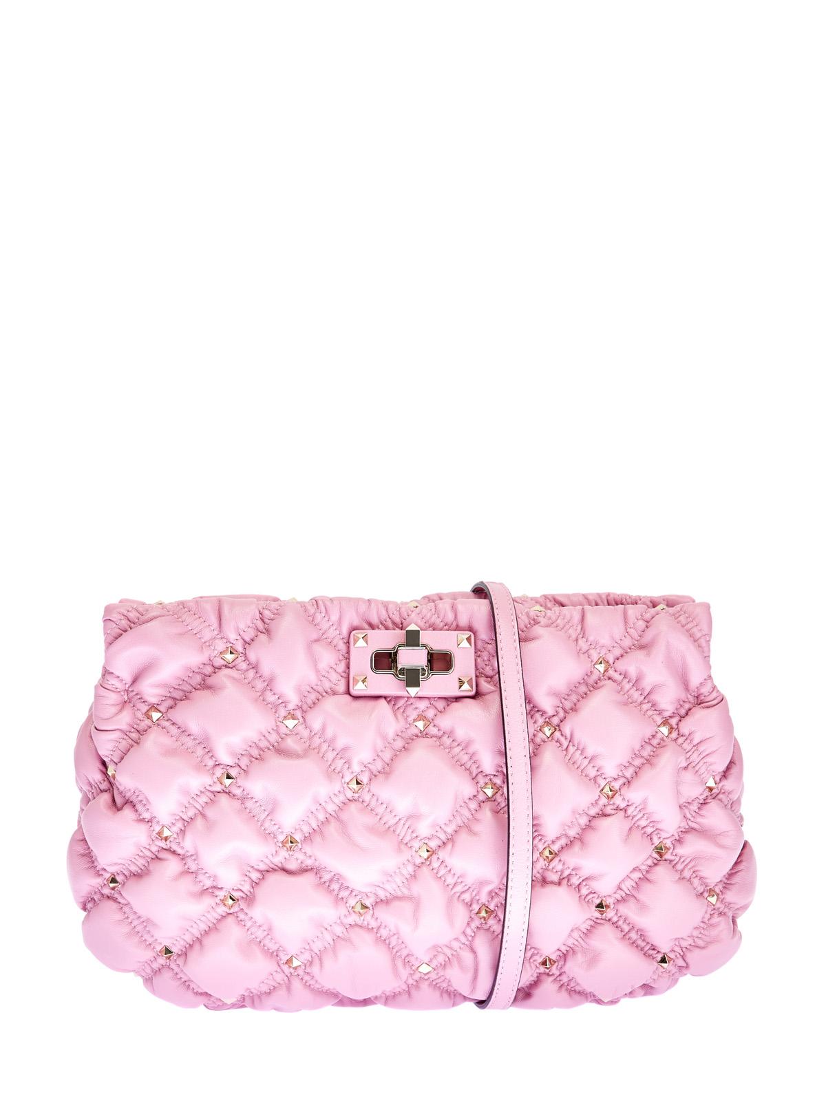 Объемная сумка SpikeMe Bag из тонкой кожи наппа