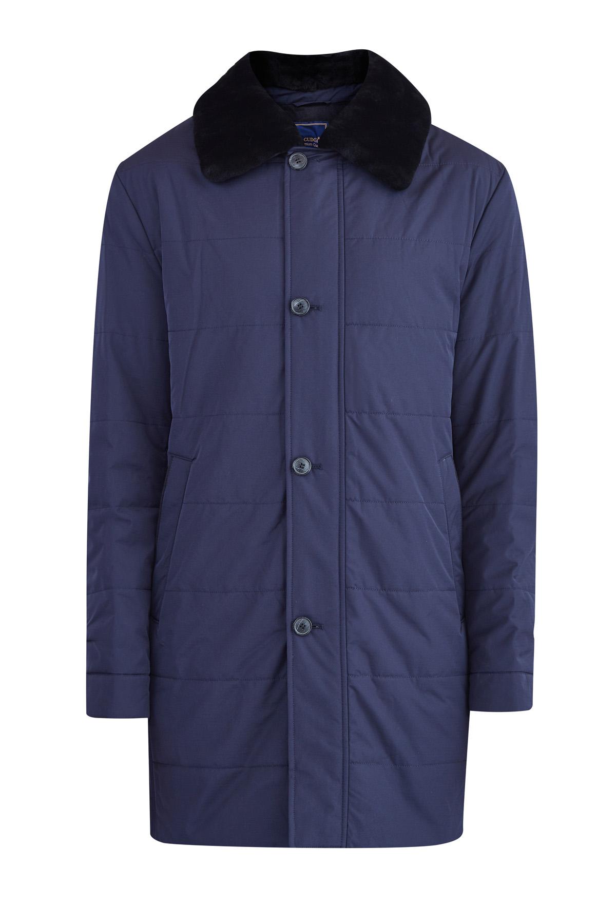 Купить Куртка, CUDGI, Италия, полиэстер 91%, спандекс 9%, искусственный мех 100%