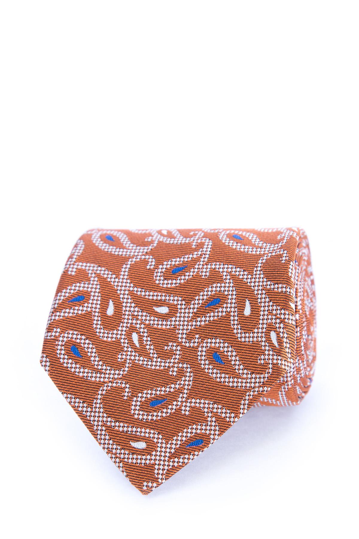 галстук, Оранжевый