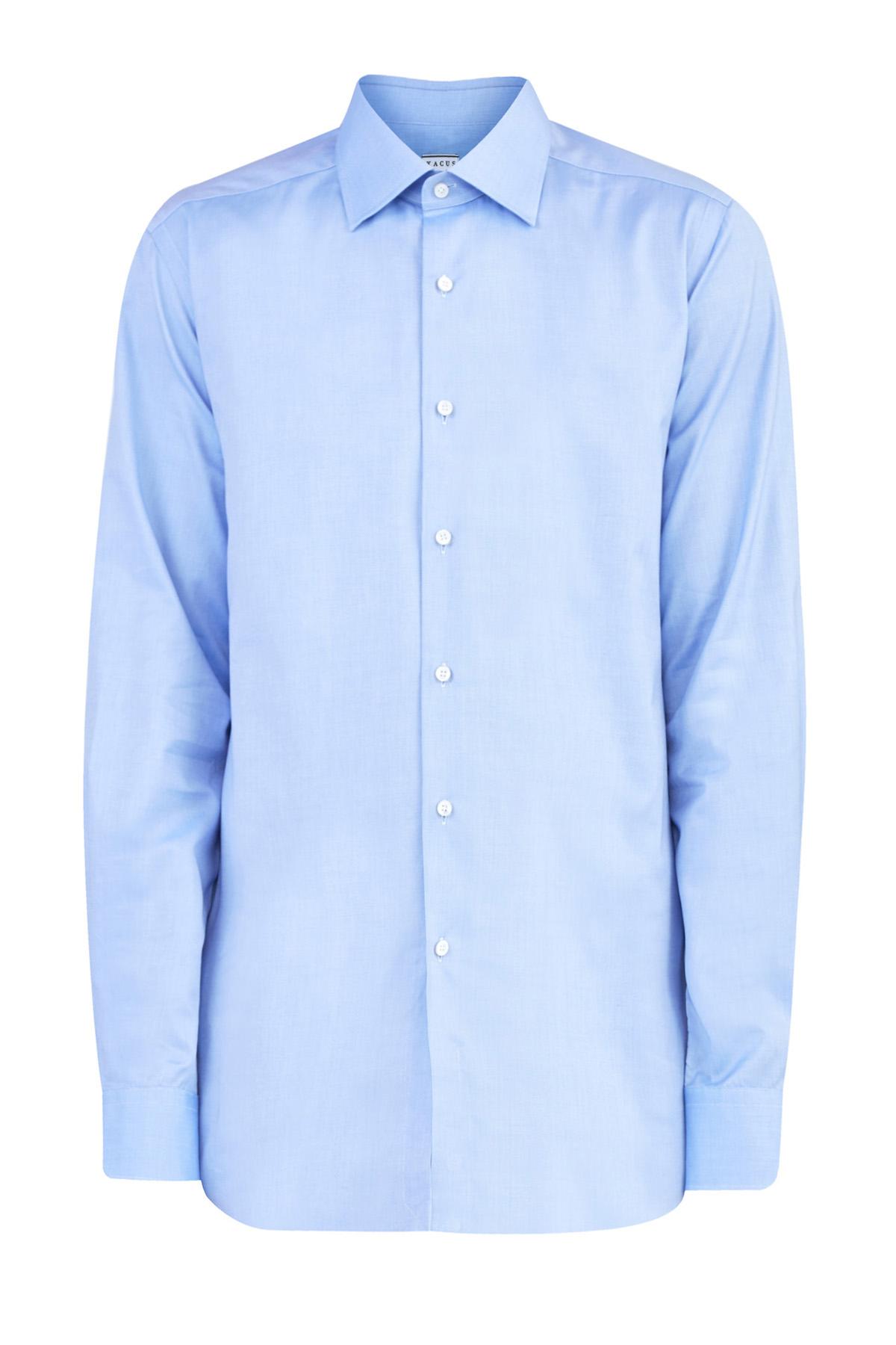 Рубашка свободного кроя tailor fit из хлопка с микротекстурой
