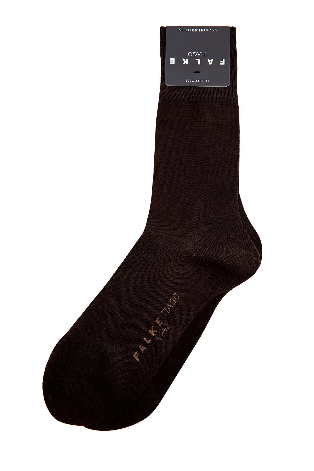 Носки из обработанного мерсеризованного хлопка.