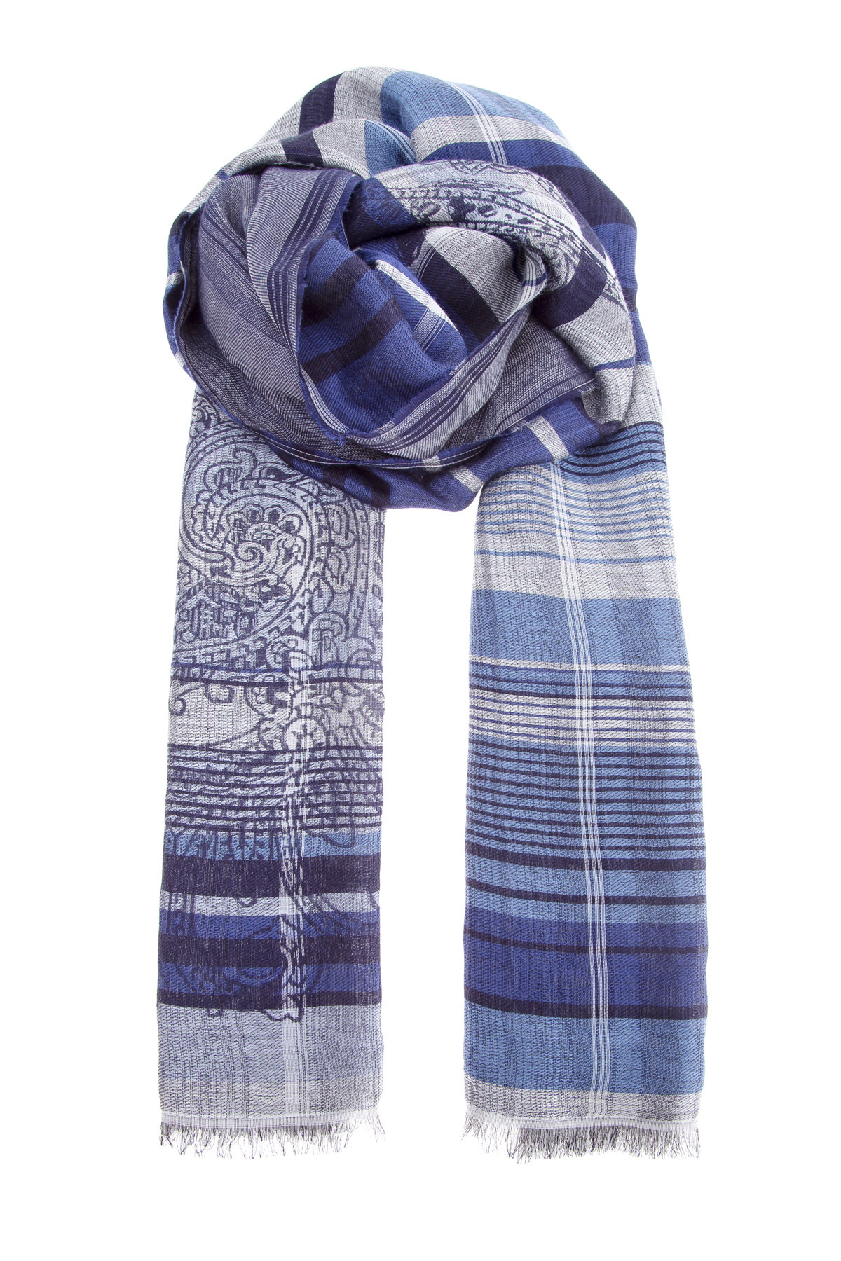 мужской шарф etro