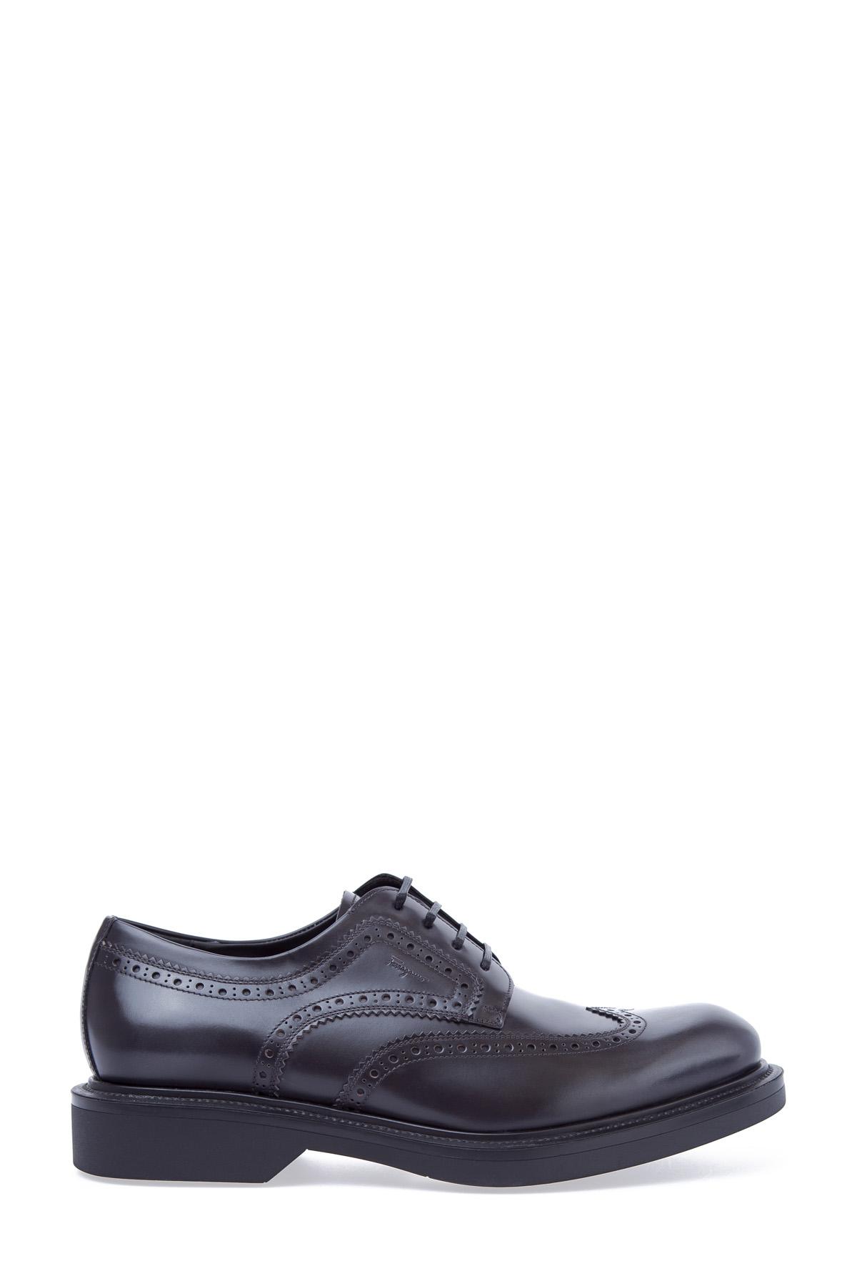 мужские ботинки на каблуке salvatore ferragamo