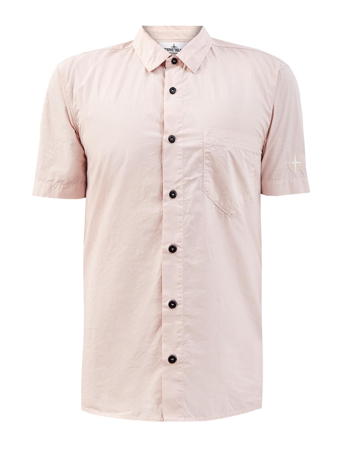 Окрашенная в готовом виде рубашка из легкого хлопка