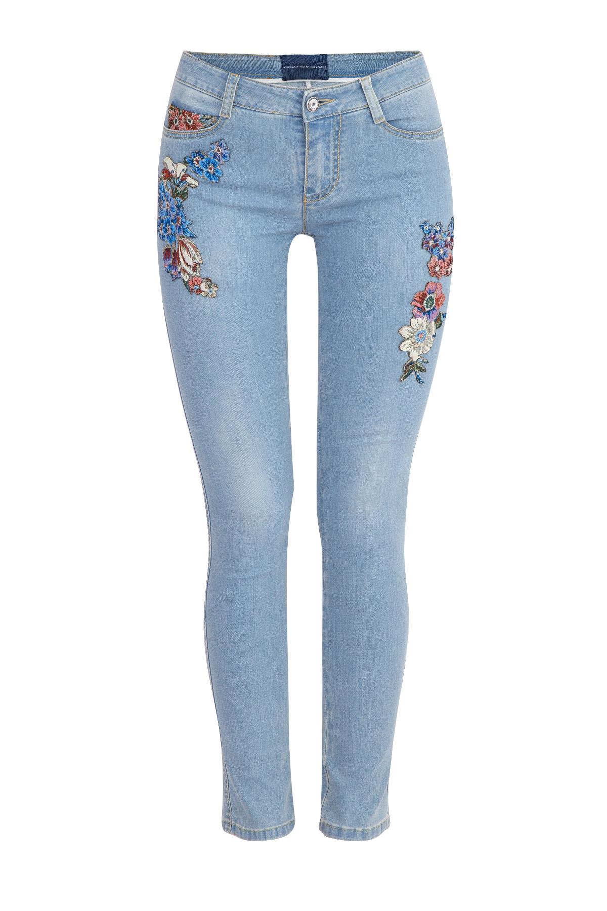 джинсыДжинсы<br><br>Материал: хлопок 90% ,  эластомультиэстер 8% ,  эластан 2%;