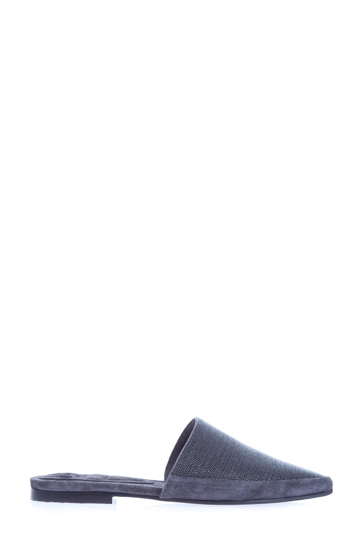 Мюли Jewel с остроконечным мыском и россыпью бусин