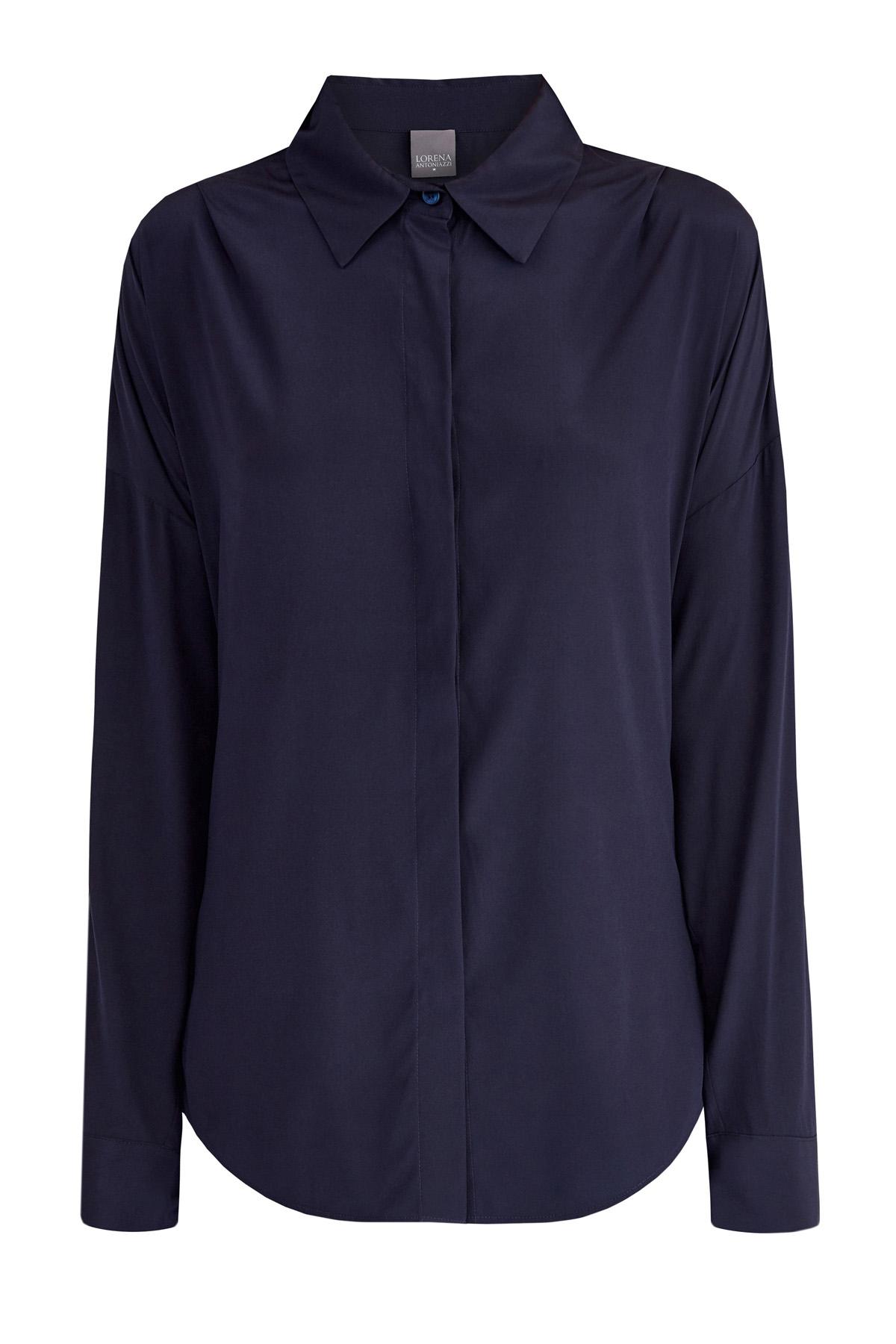 Шелковая блуза oversize фото