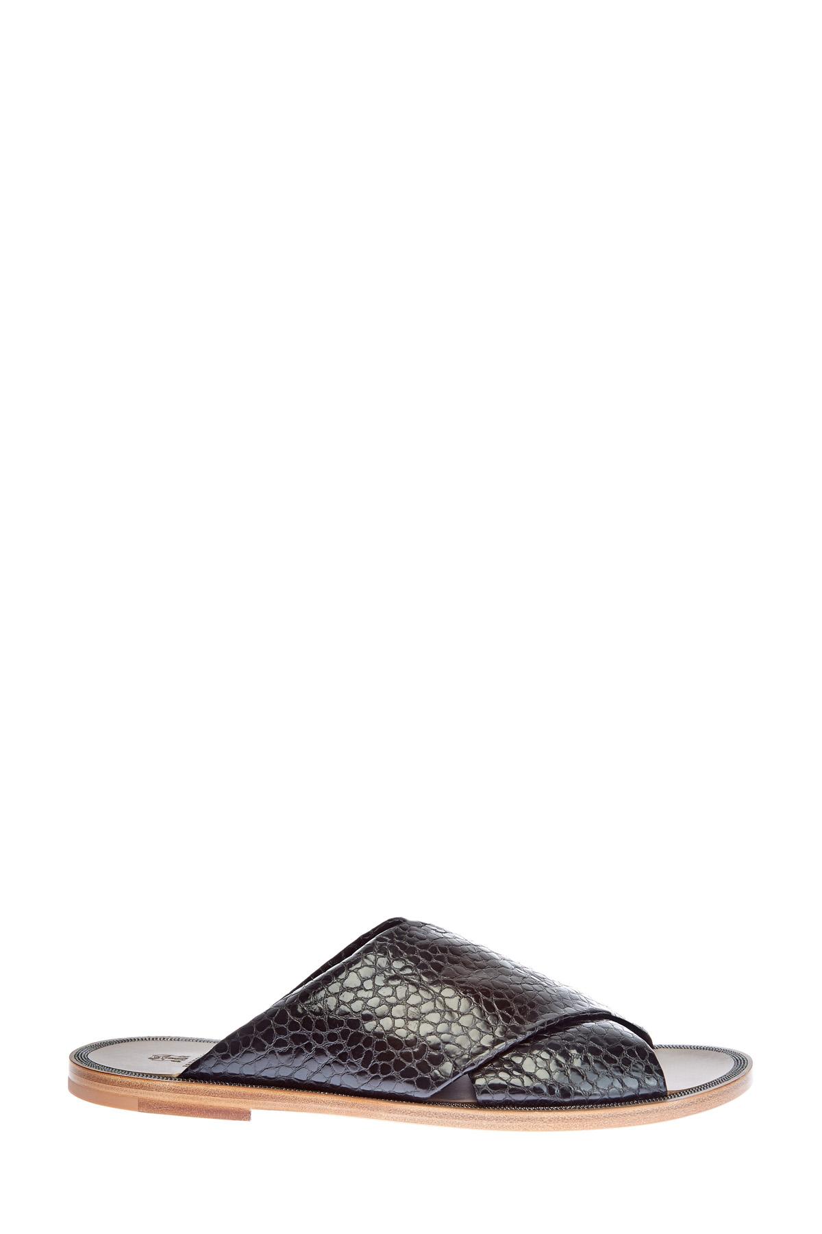 женские шлепанцы brunello cucinelli