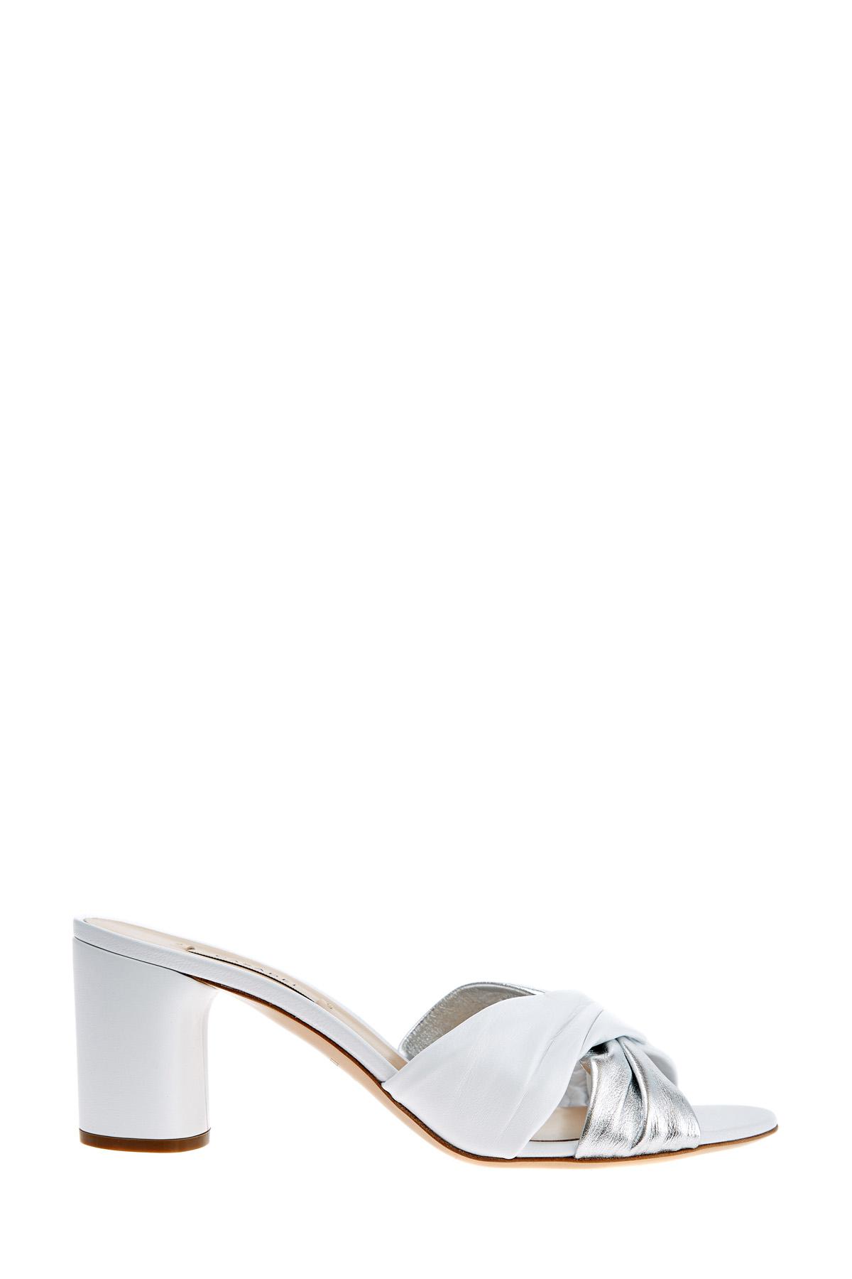 женское сабо на каблуке casadei