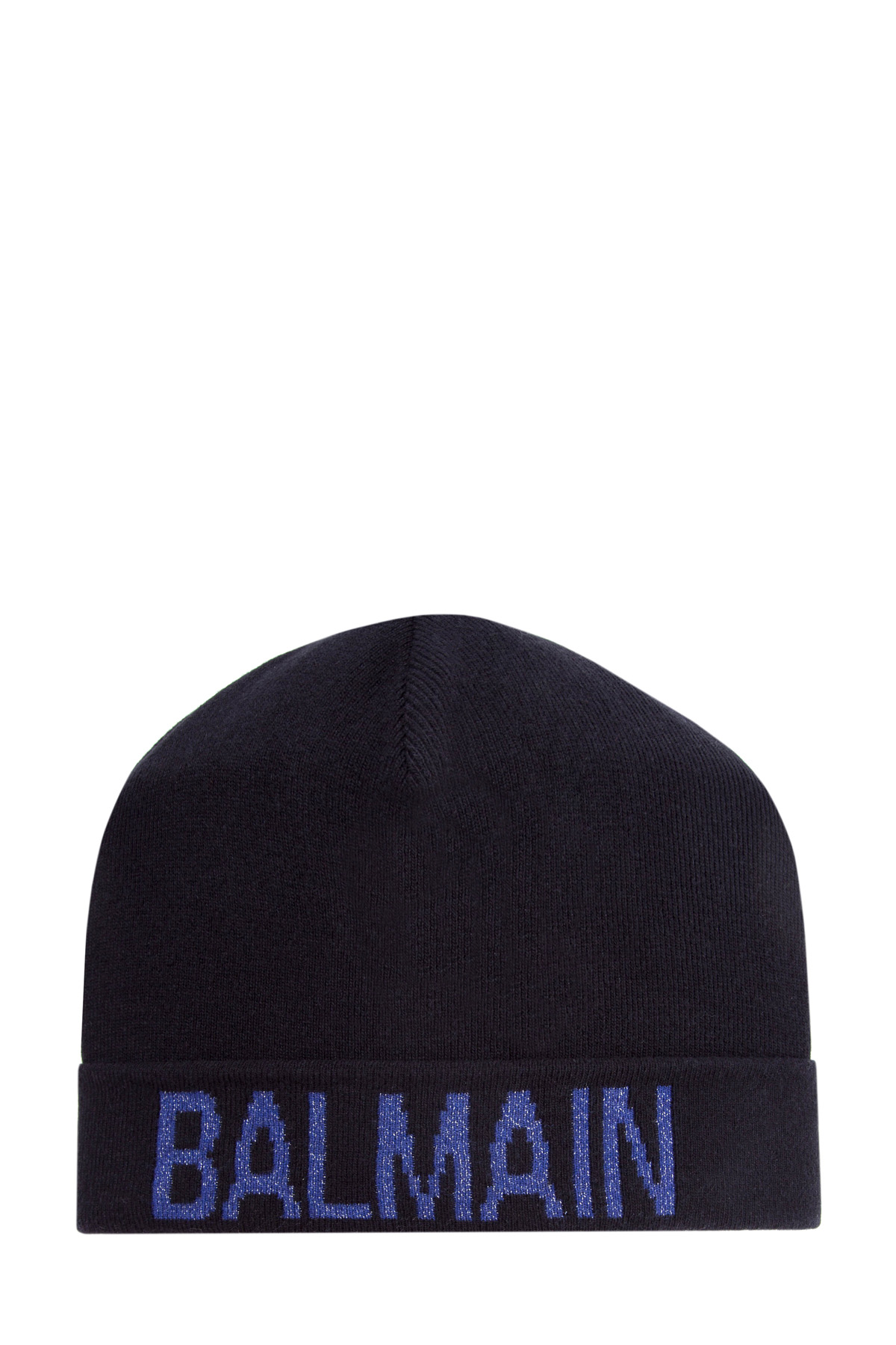 женская шапка balmain