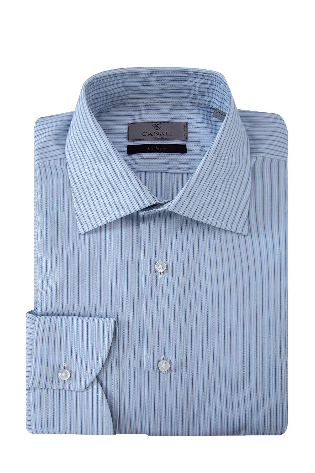 Купить Рубашка, CANALI, Италия, 100% хлопок