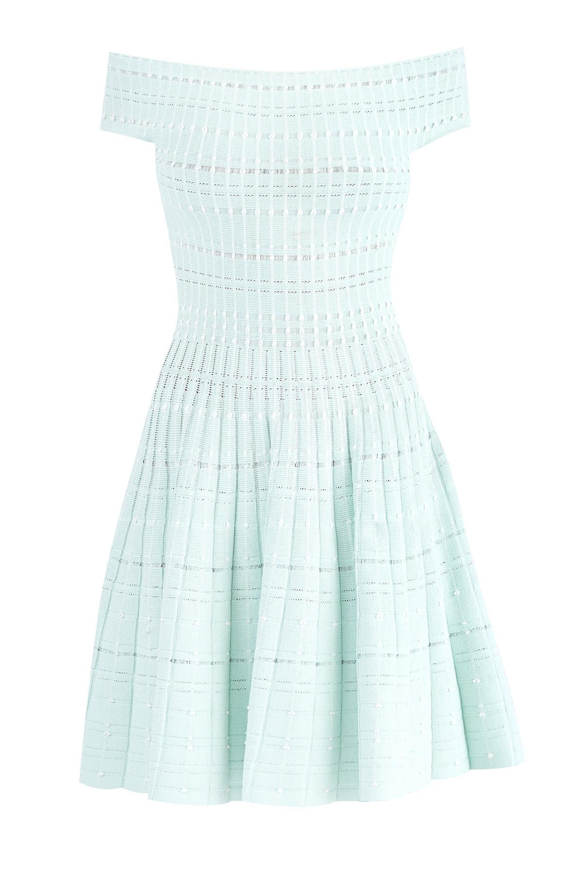 женское платье мини alexander mcqueen