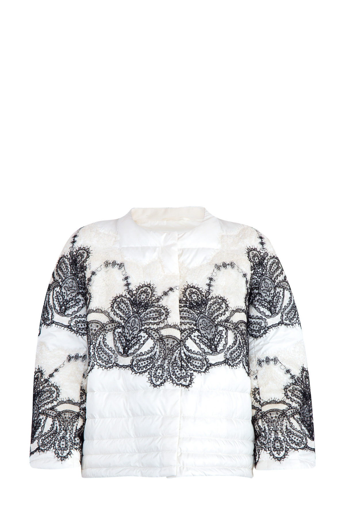 Купить Куртка, ERMANNO SCERVINO, Италия, полиэстер 100%, шелк 60%, полиамид 40%, пух 90%, перо 10%