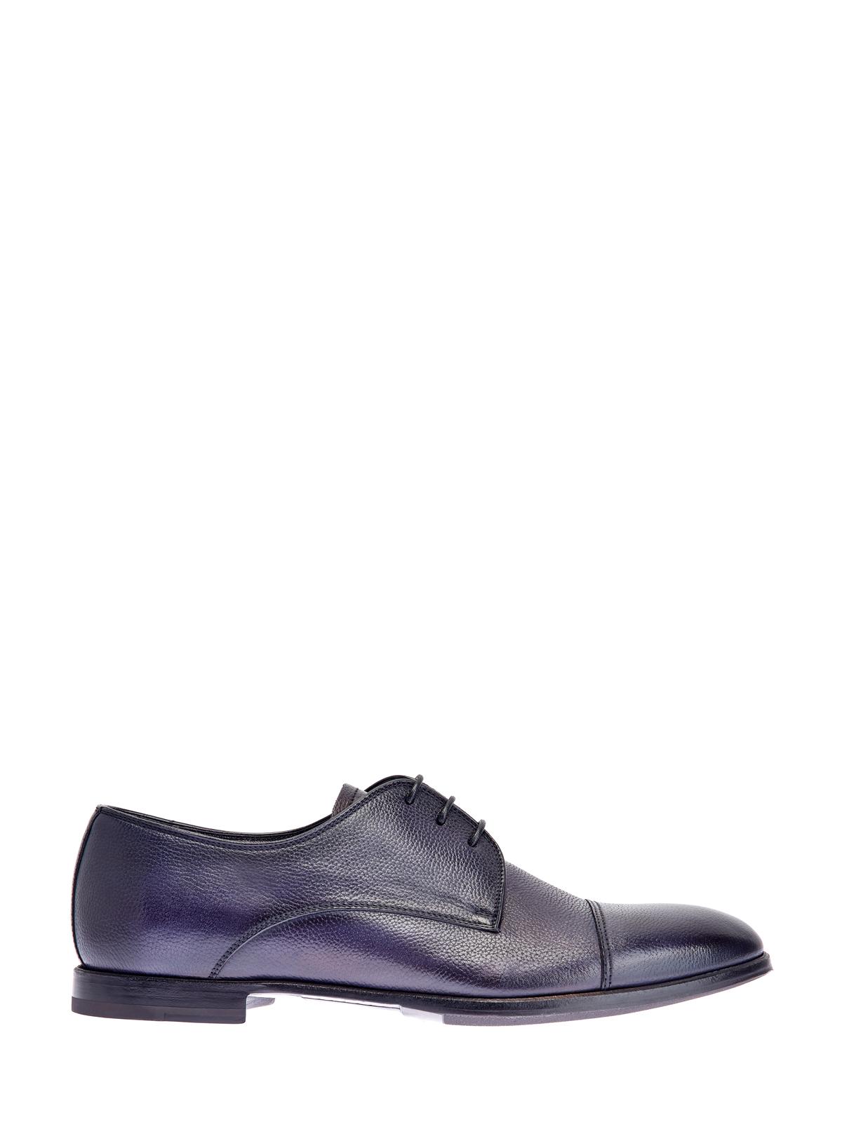 Кожаные туфли-дерби в классическом стиле