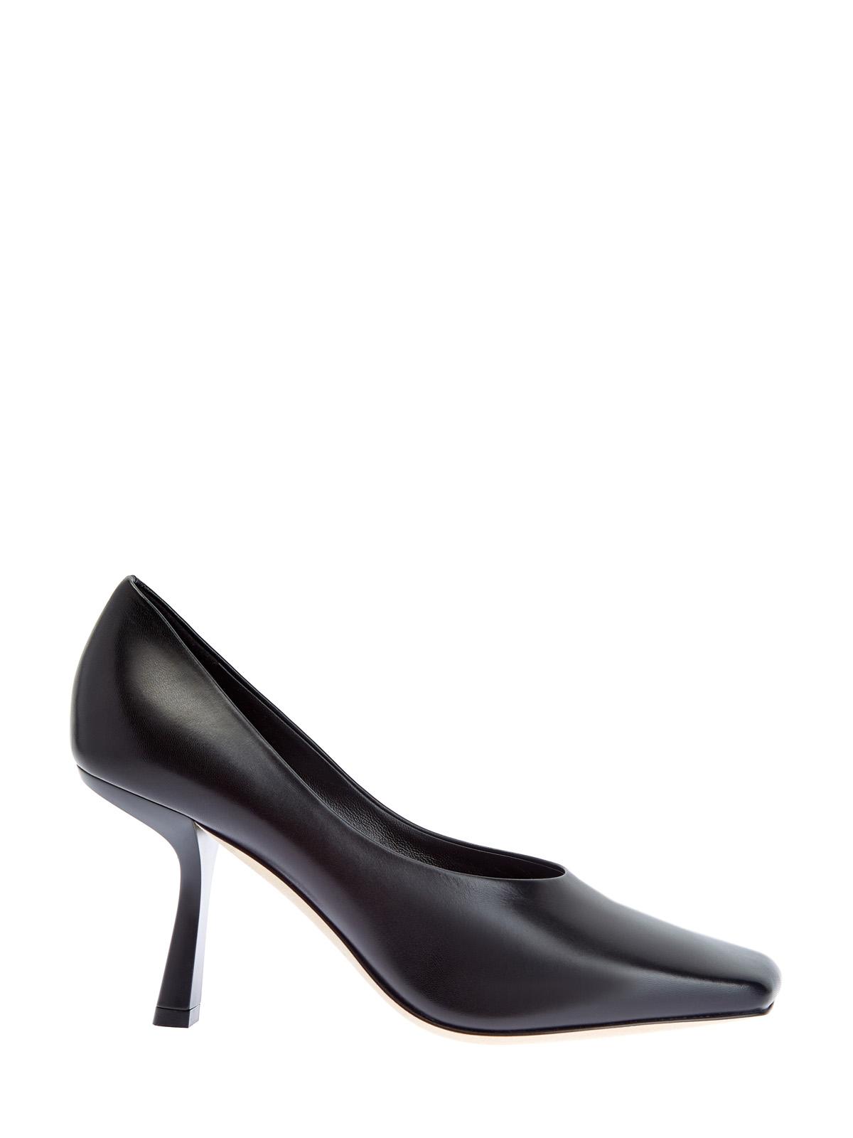 Туфли Marcela из матовой кожи наппа с архитектурным каблуком