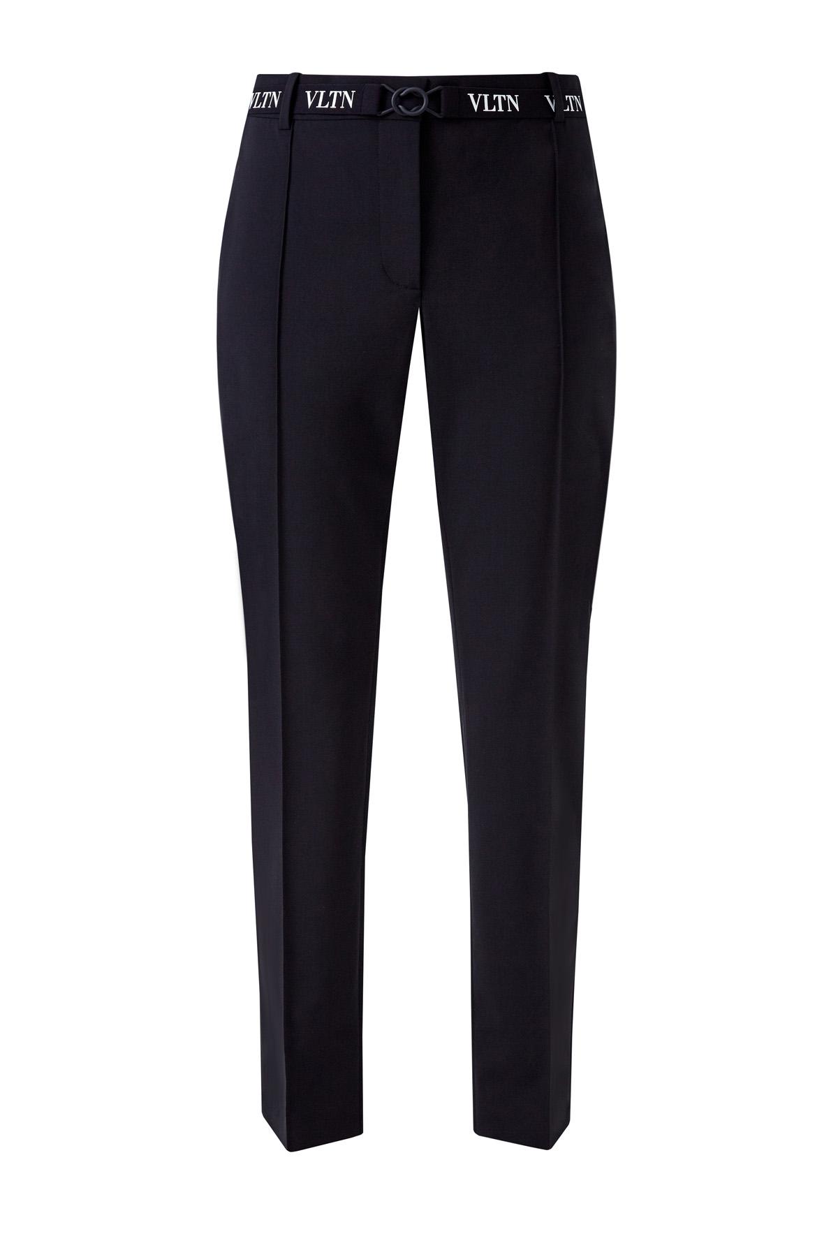 женские прямые брюки valentino