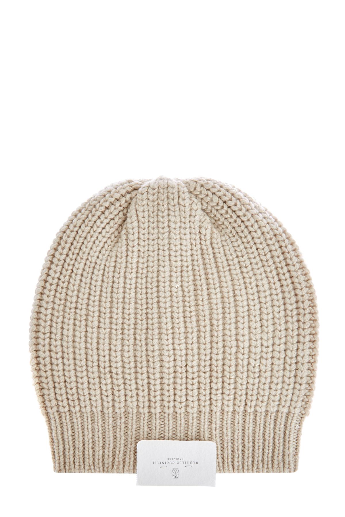 Кашемировая шапка с добавлением шелка Diamante и декором ручной работы фото