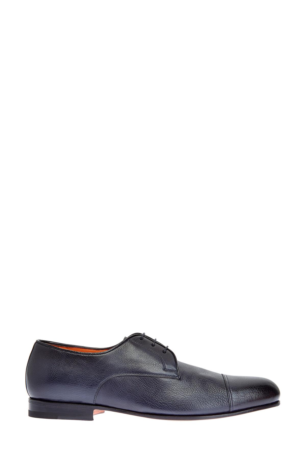 мужские туфли на каблуке santoni
