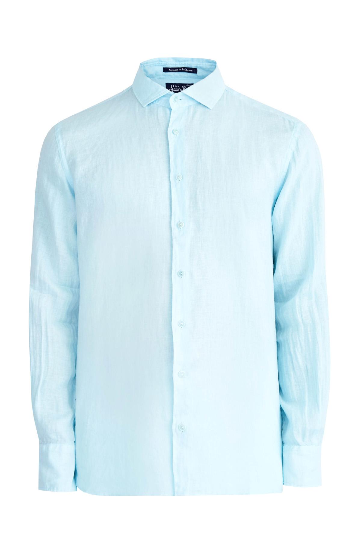 Купить Рубашка, MC2 SAINT BARTH, Италия, лен 100%