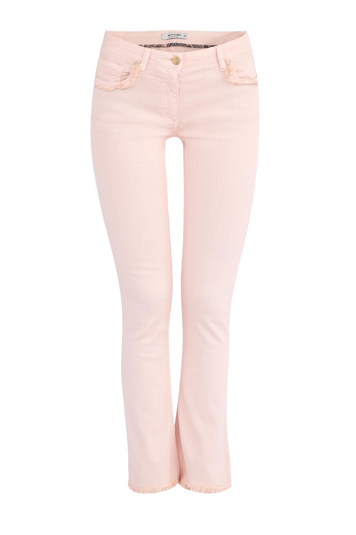 женские джинсы клеш etro