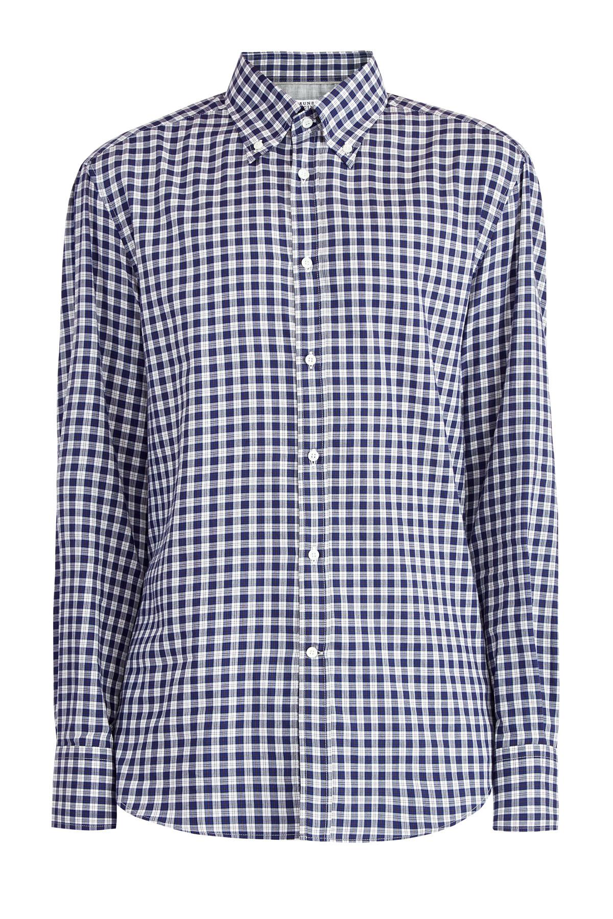 Рубашка Button Down изхлопкового джерси