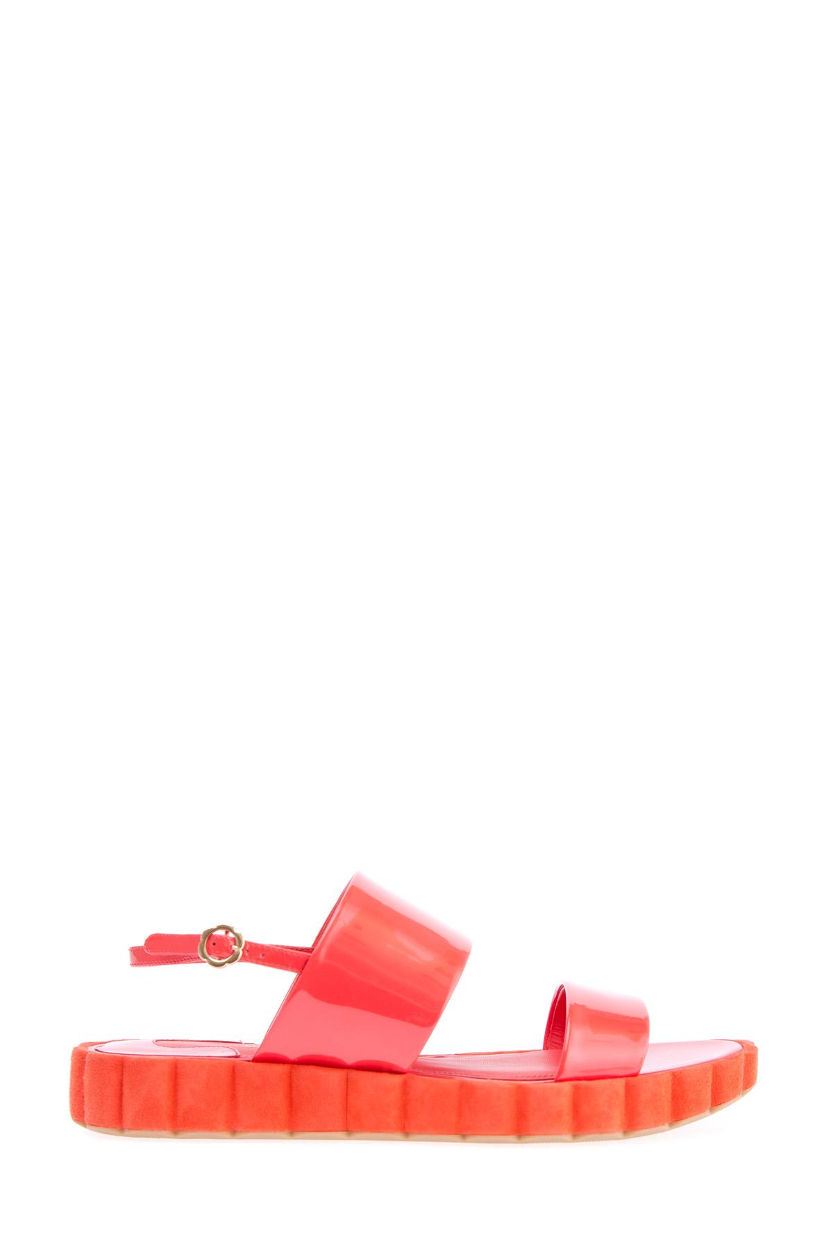 женские сандалии salvatore ferragamo
