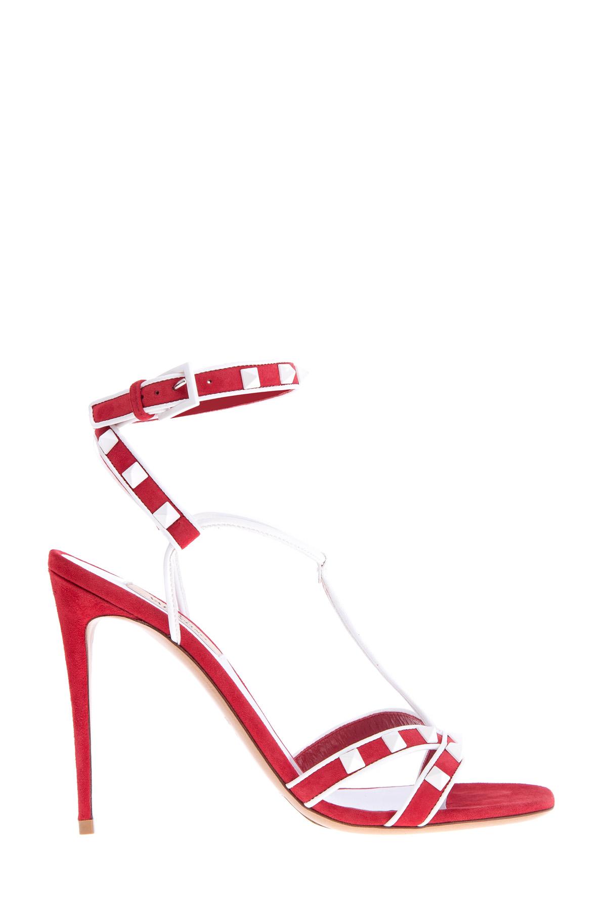 женские босоножки на каблуке valentino