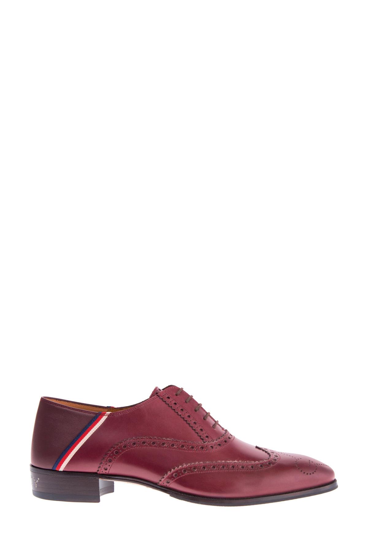 мужские туфли на каблуке gucci
