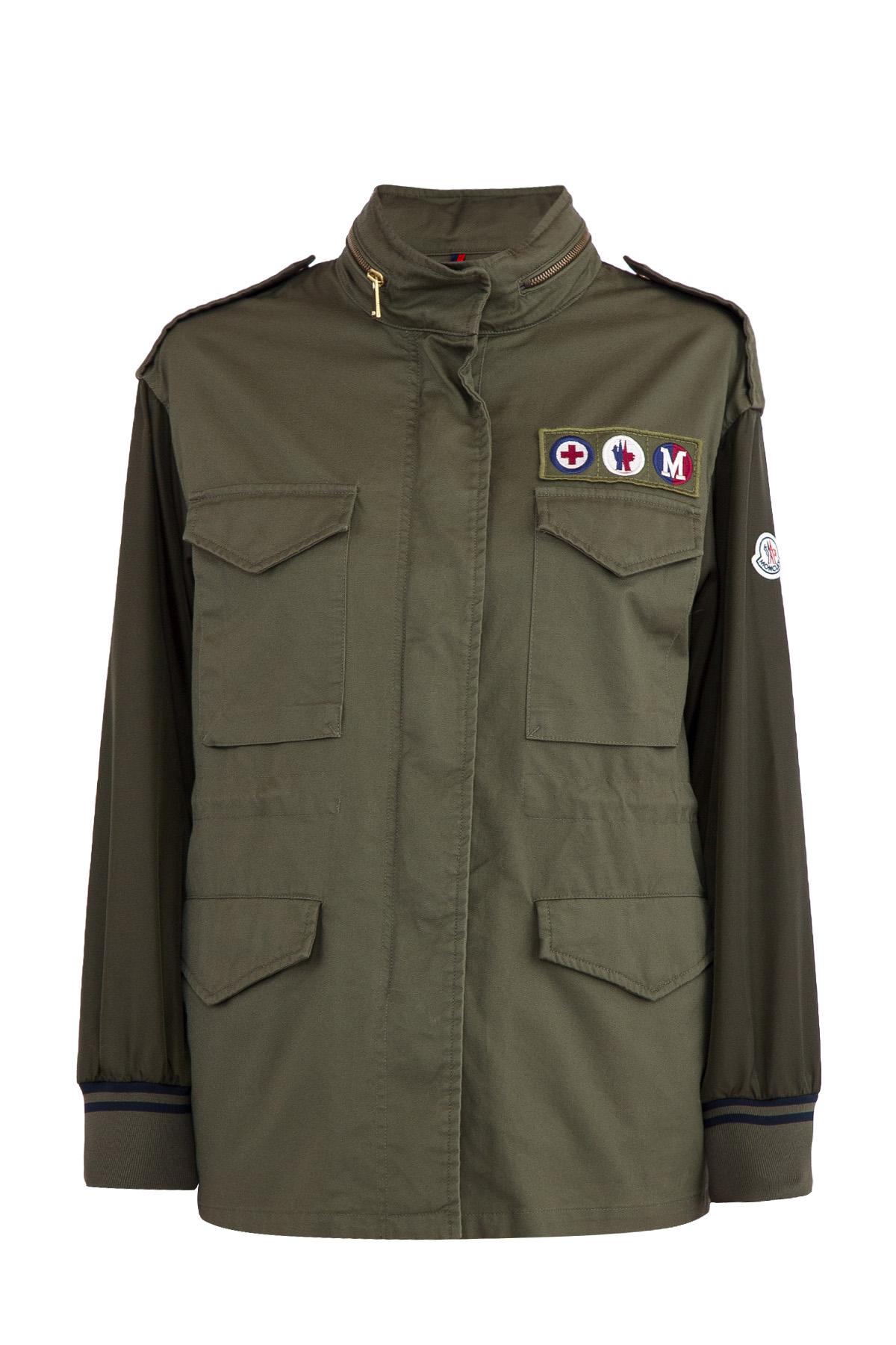 Купить Куртка, MONCLER, Италия, хлопок 100%