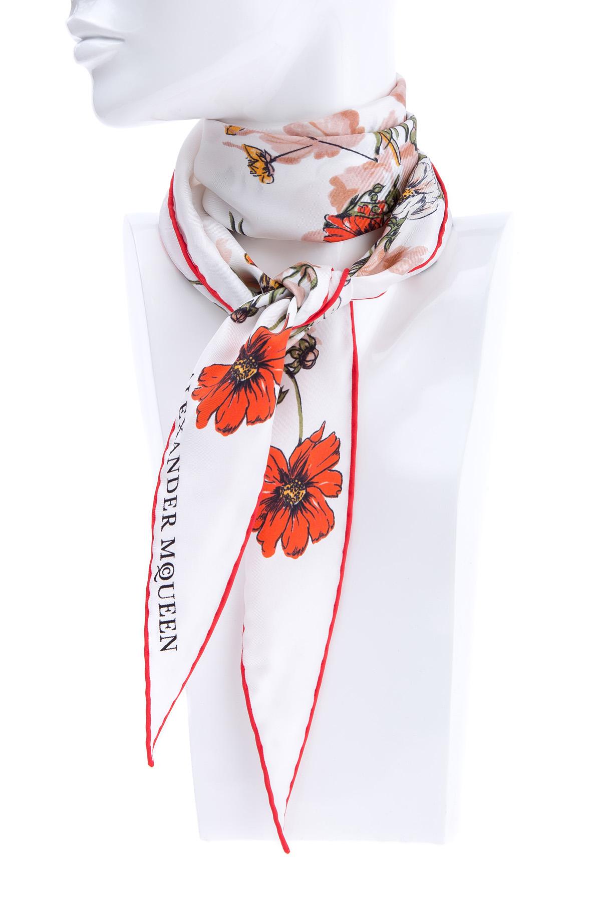 женский платок alexander mcqueen