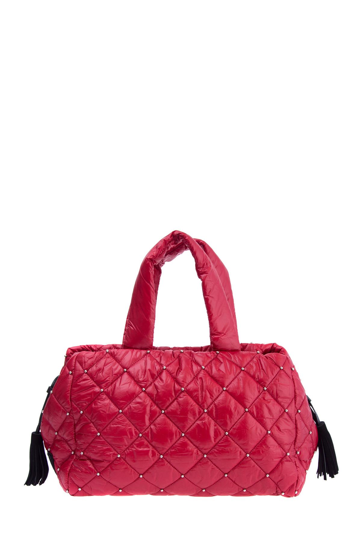 4cbc555beffb Женская сумка SONIA RYKIEL средние, цвет алый купить за 14500 руб. FW'  17/18 в интернет магазине Intermoda.