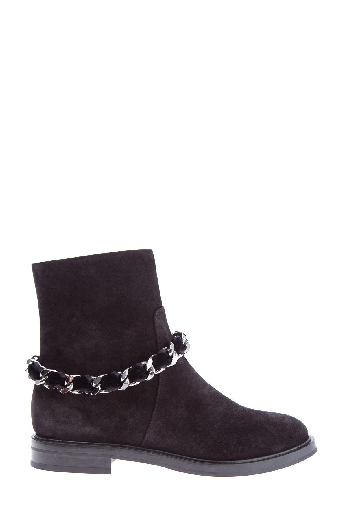 женские ботинки на каблуке casadei